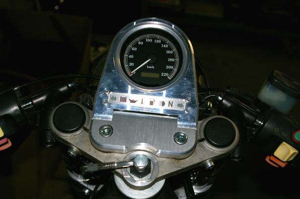 Harley Davidson Sportster Tacho
