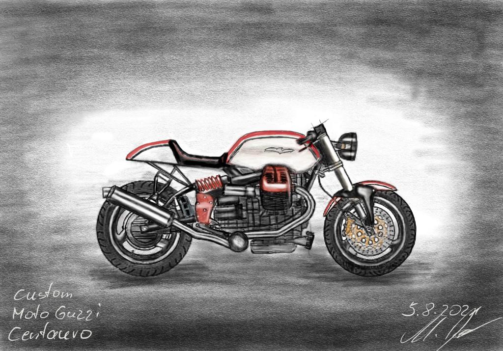 Moto Guzzi V10 Centauro Cafe Racer